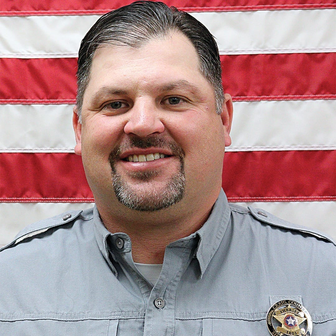 heath winfrey - craig county sheriff